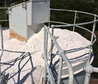 A Serious Risk for Lime Storage Silos