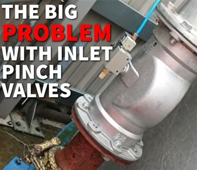 The Big Problem with Silo Inlet Pinch Valves