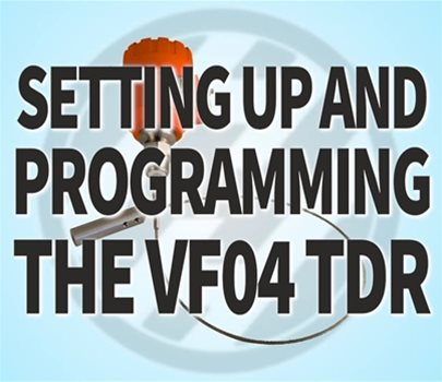 Setting Up and Programming the VF04 TDR