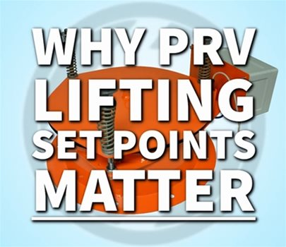 Why PRV Opening Set Points Matter